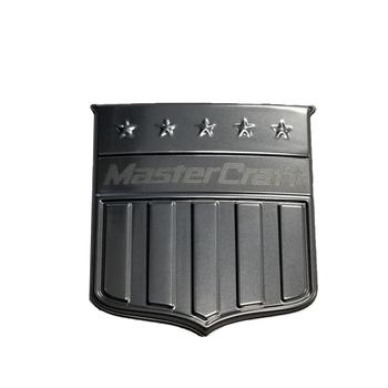 MasterCraft decal transom shield satin chrome 2014 7502014