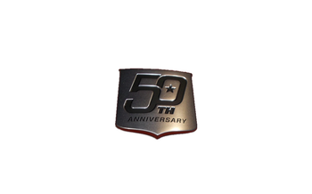 MasterCraft 50th Anniversary Edition Transom Shield For