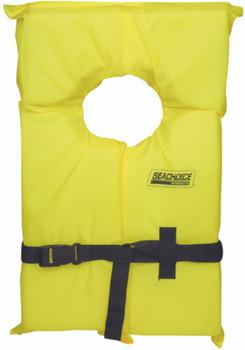 Seachoice Type II Life Vest - Yellow