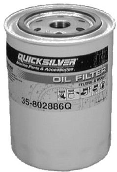 Quicksilver Oil Filter For All MCM/MIE GM Engines
