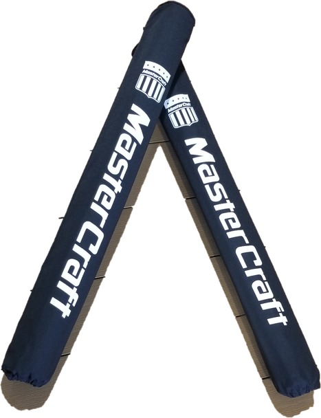 MasterCraft Black Trailer Guide Pole Covers - Heavy Duty & Capped