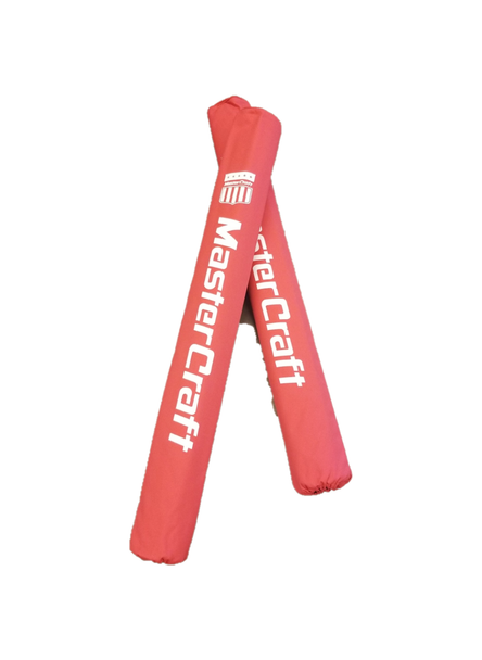 MasterCraft Red Trailer Guide Pole Covers - Heavy Duty & Capped (001-REDMCGUIDES)