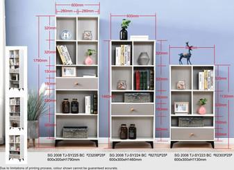 Melvin Book Cabinet