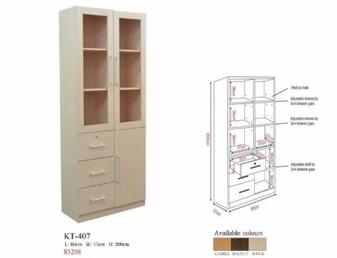 Adam II Book Cabinet