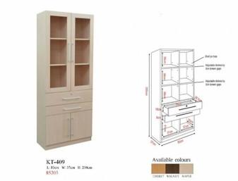 Adam IV Book Cabinet