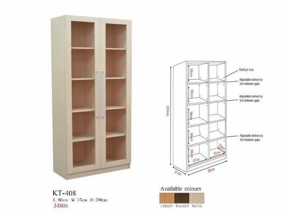 Adam III Book Cabinet