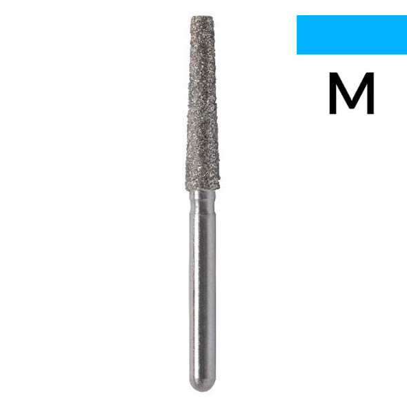 012 - Flat end taper (Shoulder) Diamond Bur- 5/pack