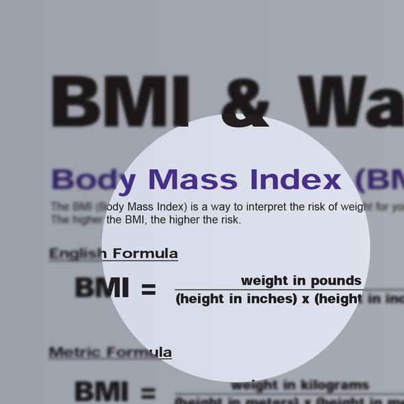 BMI and Waist Circumference detail