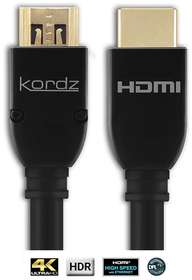 Kordz PRS-HD Series 3 HDMI cable