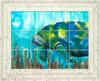 Mo the Manatee UV Ceramic Tile Mural