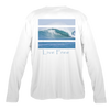Catching Giant Waves Men's Long-Sleeve Solar Performance Shirt