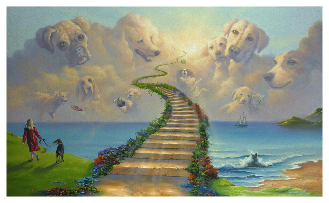 all dogs go to heaven outdoor mat jim warren art collection live