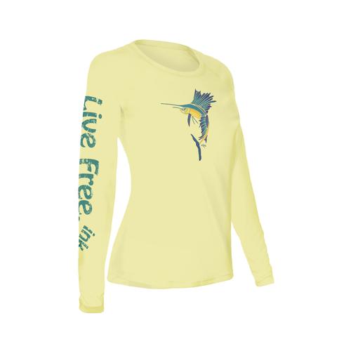 Sailfish Women's Long-Sleeve Solar Performance Shirt
