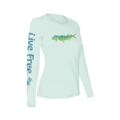 Mahi Mahi Women's Long-Sleeve Solar Performance Shirt