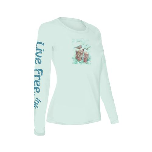 Seagull Women's Long-Sleeve Solar Performance Shirt