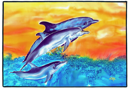 Dolphins Mat