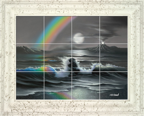Colors in a Rainbow UV Ceramic Tile Mural