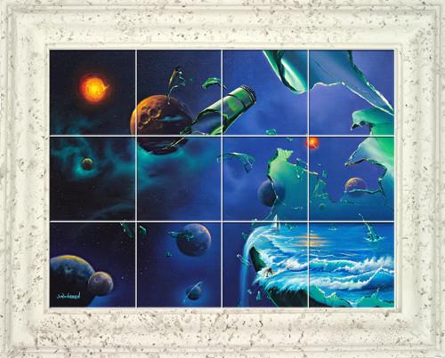 Shattered Dreams UV Ceramic Tile Mural