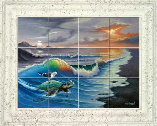 Surfin Bird UV Ceramic Tile Mural