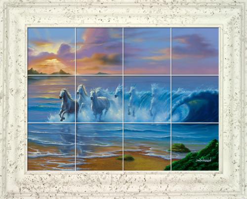 Wild Waves UV Ceramic Tile Mural