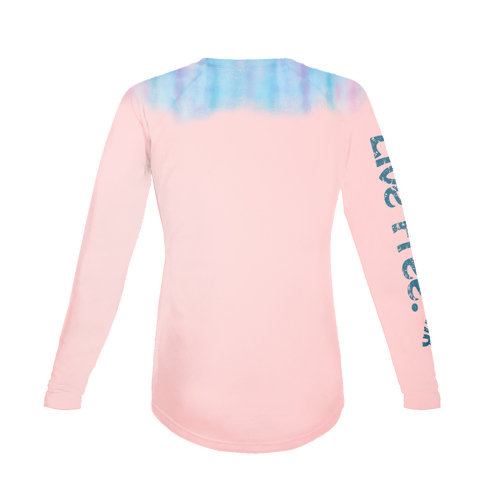 Waterfall Twisted Turtle Women's Long-Sleeve Solar Performance Shirt