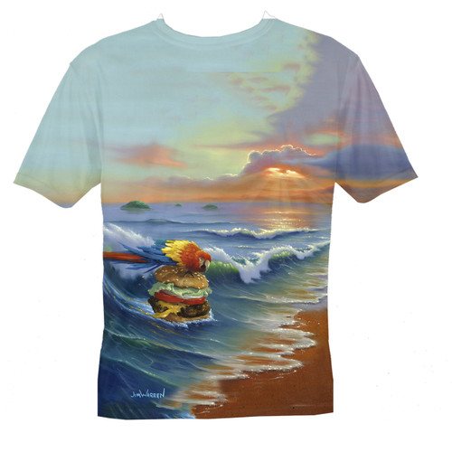 Cheeseburger in Paradise Men's T-Shirt