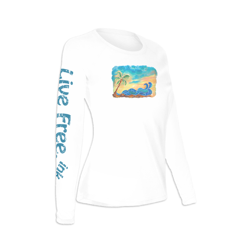 Break at the Bay Women's Long-Sleeve Solar Performance Shirt