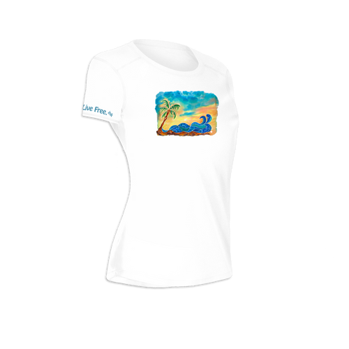 Break at the Bay Women's Short-Sleeve Solar Performance Shirt