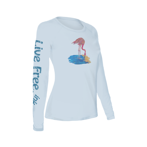 Flamingo Women's Long-Sleeve Solar Performance Shirt
