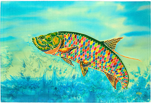 Tarpon Time Placemat