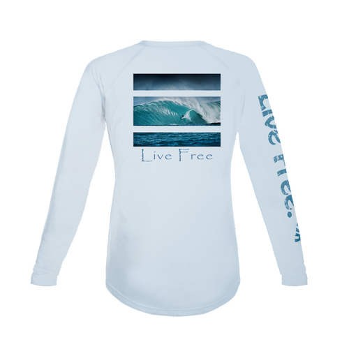 Surfing Women's Long-Sleeve Solar Performance Shirt