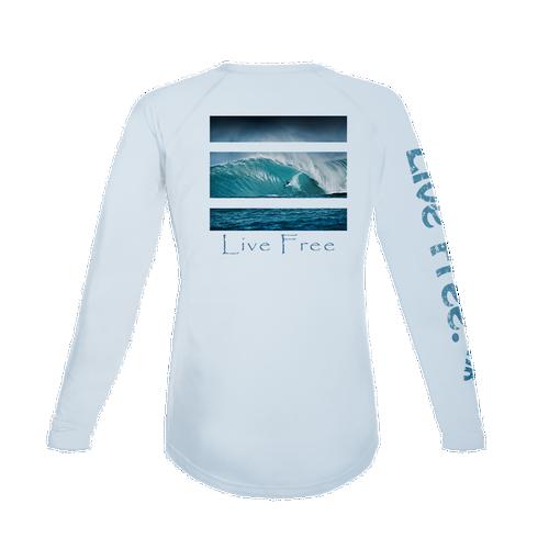 Surfing Women's Long-Sleeve Solar Performance Shirt