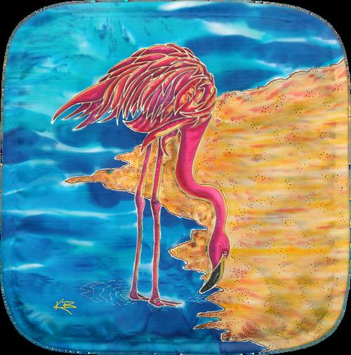 Flamingo Potholder