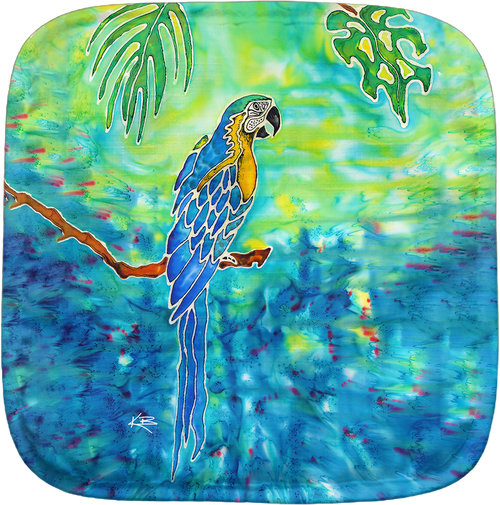 Blue in Paradise Potholder