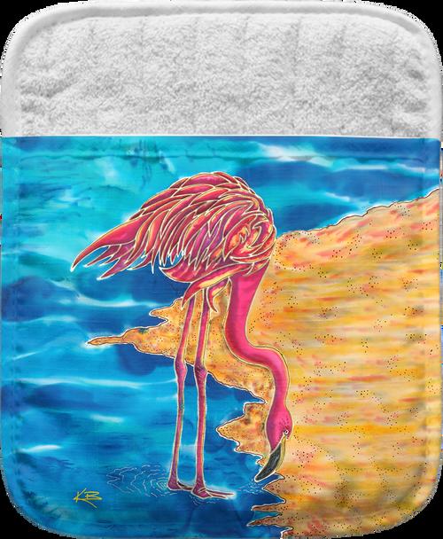 Flamingo Pocket Mitt