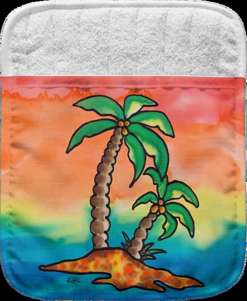 Rainbow Palms Pocket Mitt
