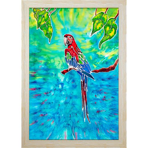 Tropical Red Resin Print