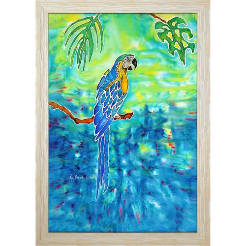 Blue in Paradise Resin Print