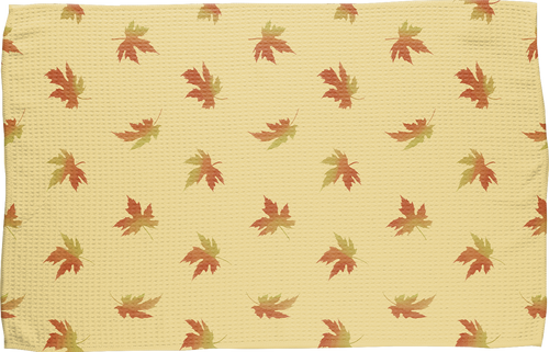 Fall Leaves Kitchen Towel