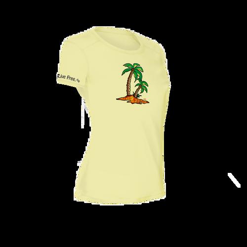 Palm Island Women's Short-Sleeve Solar Performance Shirt