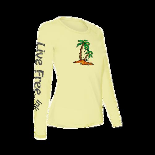 Palm Island Women's Long-Sleeve Solar Performance Shirt