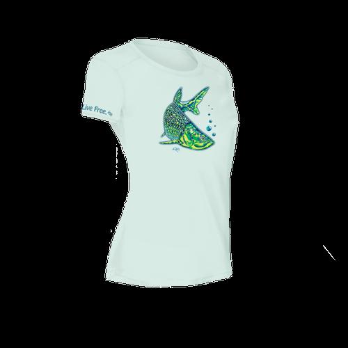 Tarpon Women's Short-Sleeve Solar Performance Shirt