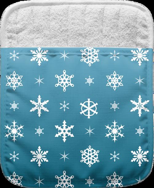 Snowflakes Pocket Mitt