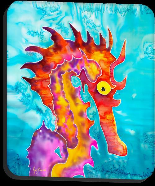 Fierce the Seahorse Mousepad