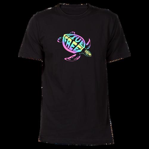 Colorful Sea Turtle Cotton T-Shirt