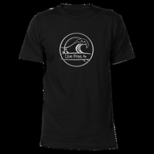 Catching Waves Cotton T-Shirt