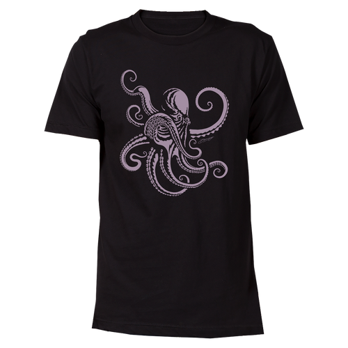 Octopus Cotton T-Shirt