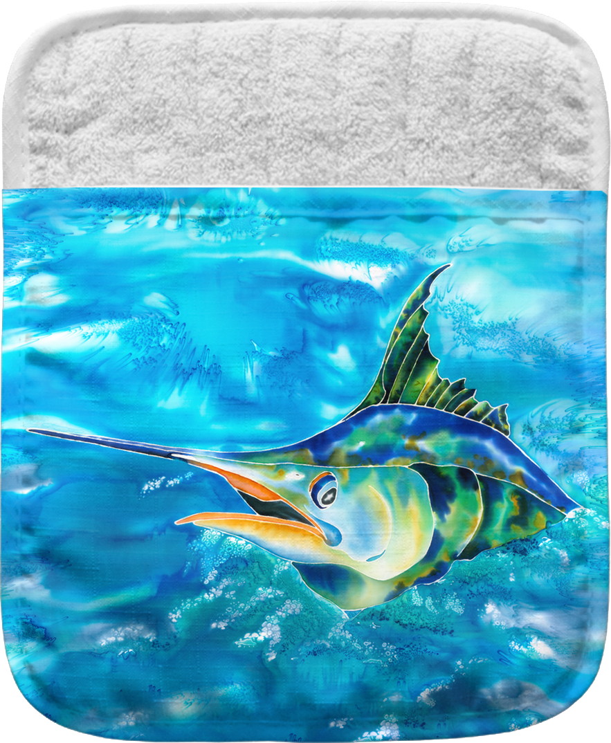 Splash The Marlin Pocket Mitt Kim Braun Live Free Ink