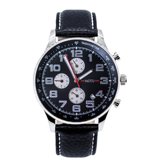 20 Series- Black Dial with Black Strap