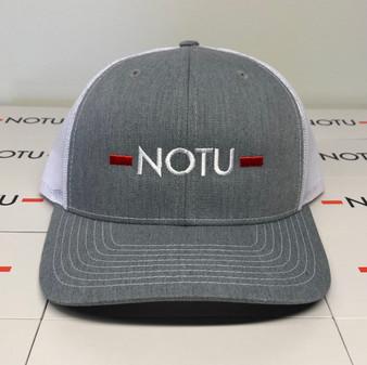 Notu Gray/White Snapback